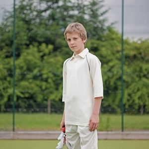 Finden Hales Piped Aridus cricket shirt